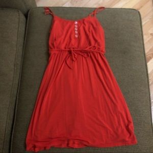Guess size XS orange/red summer dress